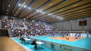 Спортна зала Левски волейбол